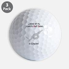 CrochetPhD Golf Ball