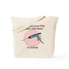 CraftingPhD Tote Bag