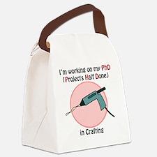CraftingPhD Canvas Lunch Bag