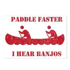 PaddleFaster Postcards (Package of 8)