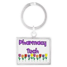 Pharmacy Tech Landscape Keychain