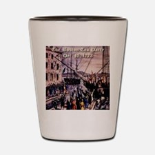 thebostonteaparty_16dec1773 Shot Glass