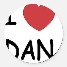 DAN_01 Round Car Magnet