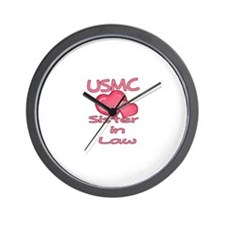 USMC Sister-N-Law Wall Clock