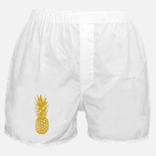 Pineapple Fuel Yellow Boxer Shorts