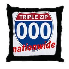 194f-blk Throw Pillow