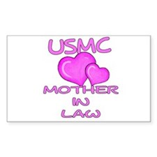 USMC Mother-N-Law Rectangle Decal