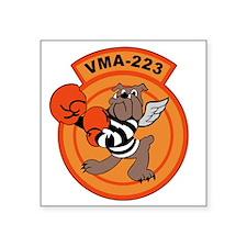 """vma-223 Square Sticker 3"""" x 3"""""""