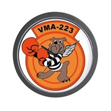 vma-223 Wall Clock