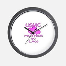 USMC Mother-N-Law Wall Clock