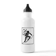 cross_wht Water Bottle