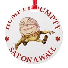 ALICE_HUMPTY DUMPTY_RED copy Ornament