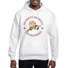 ALICE_HUMPTY DUMPTY_RED copy Hoodie