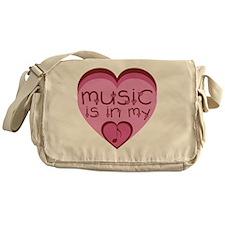 music copy.gif Messenger Bag