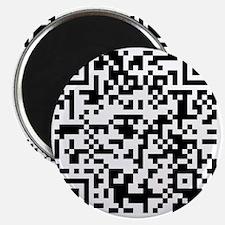 Apparently your QR code reader works! Magnet