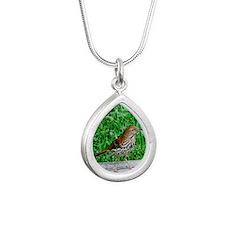 DSC_0121 Silver Teardrop Necklace