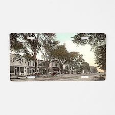 Main Street Aluminum License Plate