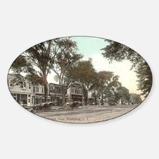 Main Street Sticker (Oval)