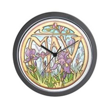 May Birthday Mug Wall Clock