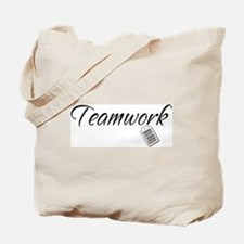 Teamwork Tag -- Priceless Tote Bag