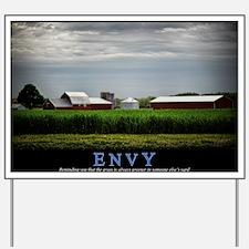 Envy Yard Sign