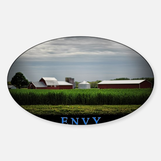 Envy Sticker (Oval)