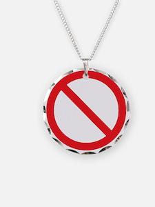 No Religion_black Necklace