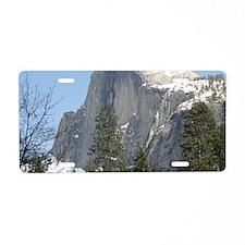March Yosemite 073 Aluminum License Plate
