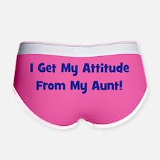 attitudefromaunt_navy Women's Boy Brief