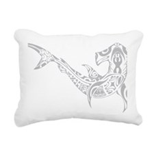 dive sharklight Rectangular Canvas Pillow