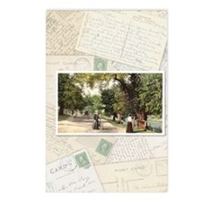 collage vertical Postcards (Package of 8)