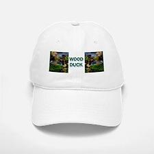 (7) Wood Duck Wing Baseball Baseball Cap