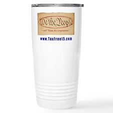 WE THE PEOPLE NOT THEM LARGE Travel Mug