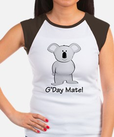 gdaymate Women's Cap Sleeve T-Shirt