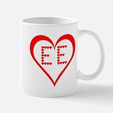 EE Hearts Mug