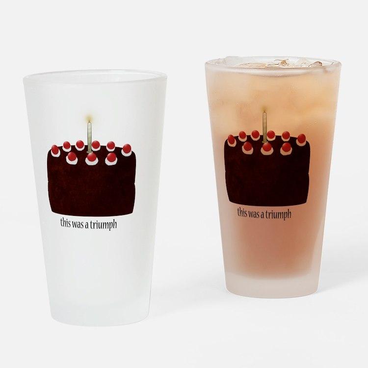 cakceacekackeakckee copy Drinking Glass