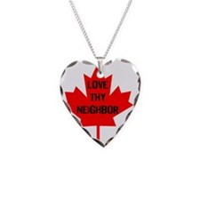 Love thy neighbor-1 Necklace