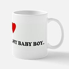 I Love MYKAEL ISAIAH ...MY BA Mug