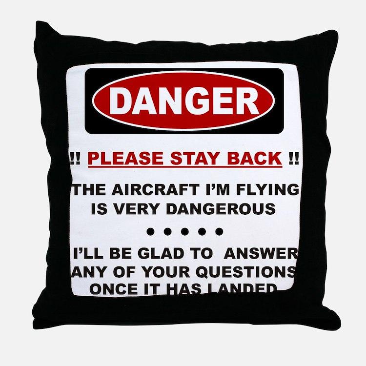danair Throw Pillow