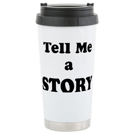 2-Tell me a storylight Stainless Steel Travel Mug