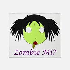 Zombie Mi-big Throw Blanket
