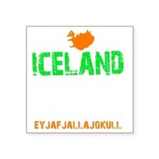"Iceland Thing -dk Square Sticker 3"" x 3"""