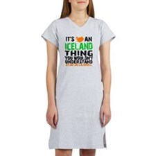 Iceland Thing Women's Nightshirt