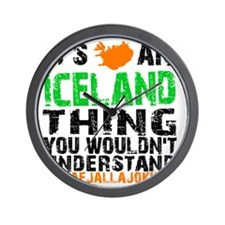 Iceland Thing Wall Clock