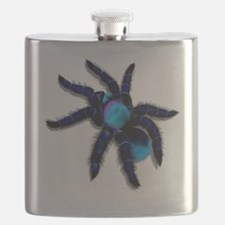 Big Blue Spider Trans Flask
