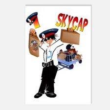 I Skycap Trans Postcards (Package of 8)