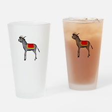 T0035B-DonkeyToRiver-2000x2000 Drinking Glass