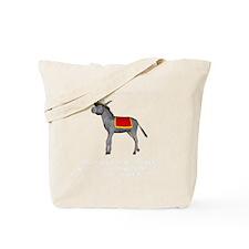 T0035B-DonkeyToRiver-2000x2000 Tote Bag