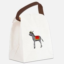 T0035B-DonkeyToRiver-2000x2000 Canvas Lunch Bag