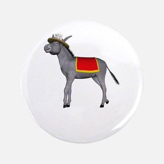 "T0035B-DonkeyToRiver-2000x2000 3.5"" Button"